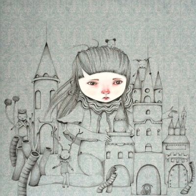 """Building haunted castles"" - Ivana Flores 