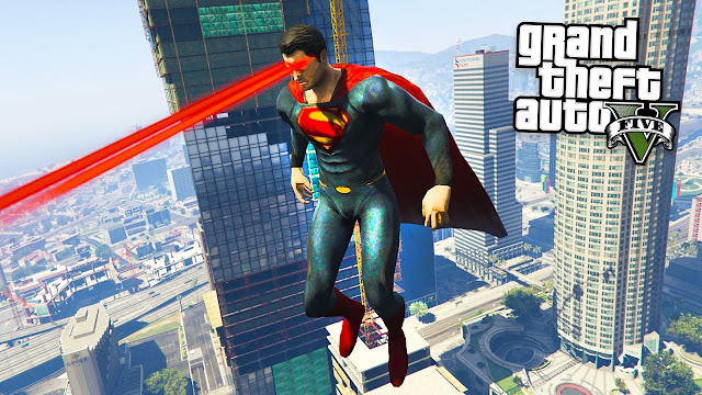 GTA 5 Superman mod متاح الآن للتحميل