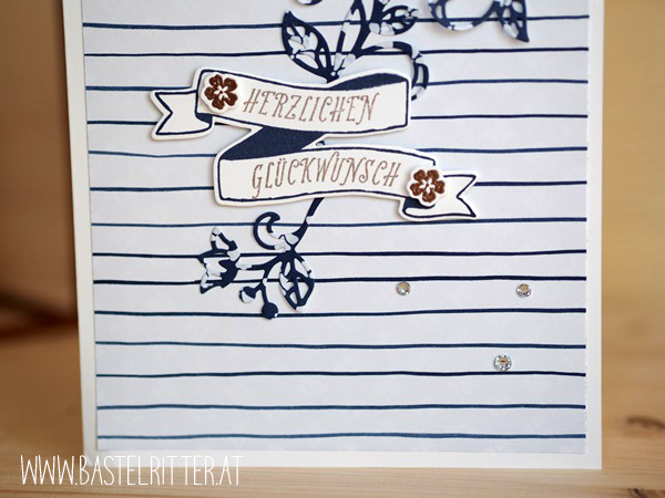 Flourish Thinlits Bannerweise Grüße bunch of banners thinlits stampin up Bastelritter