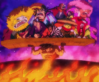 Kematian Kozuki Oden, Kozuki Oden di eksekusi, oden mati, oden die, oden death, Kozuki Oden Mati, Wano Kuni