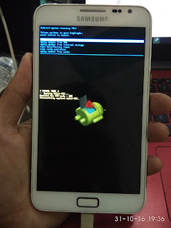 Hard Reset Samsung Galaxy Note N7000