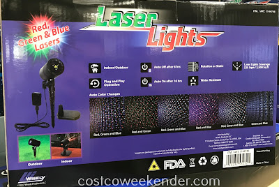 Costco 1144746 - Laser Lights Projector: great for Christmas and the holidays