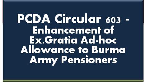 pcda-circular-603-enhancement-of-ex-gratia-ad-hoc-allowance