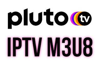 descarga lista m3u m3u8 pluto tv