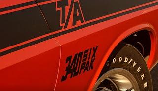 TA 340 Six Pack Emblem