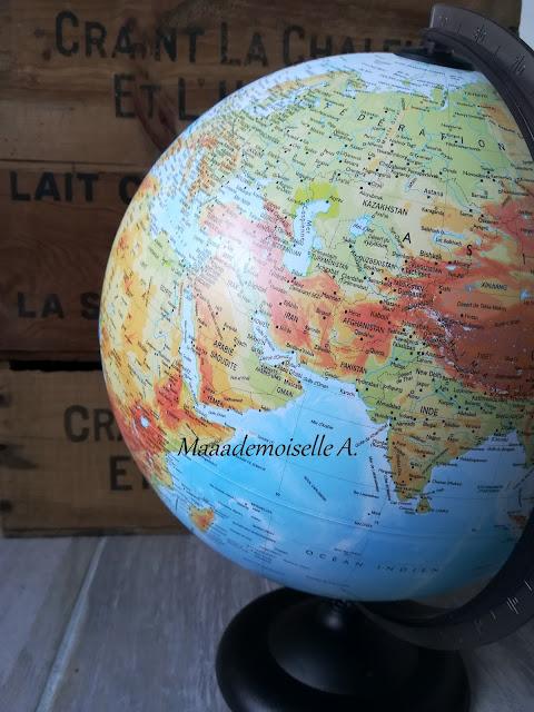 Petite initiation à la géographie : Globe terrestre