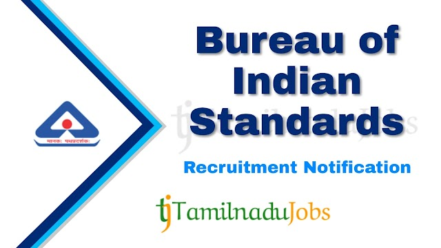 BIS Recruitment notification of 2020 - for Stenographer, Assistant and More - 171 post