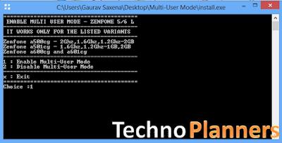 Multi-user Mode on Asus Zenfone 5, Zenfone 6