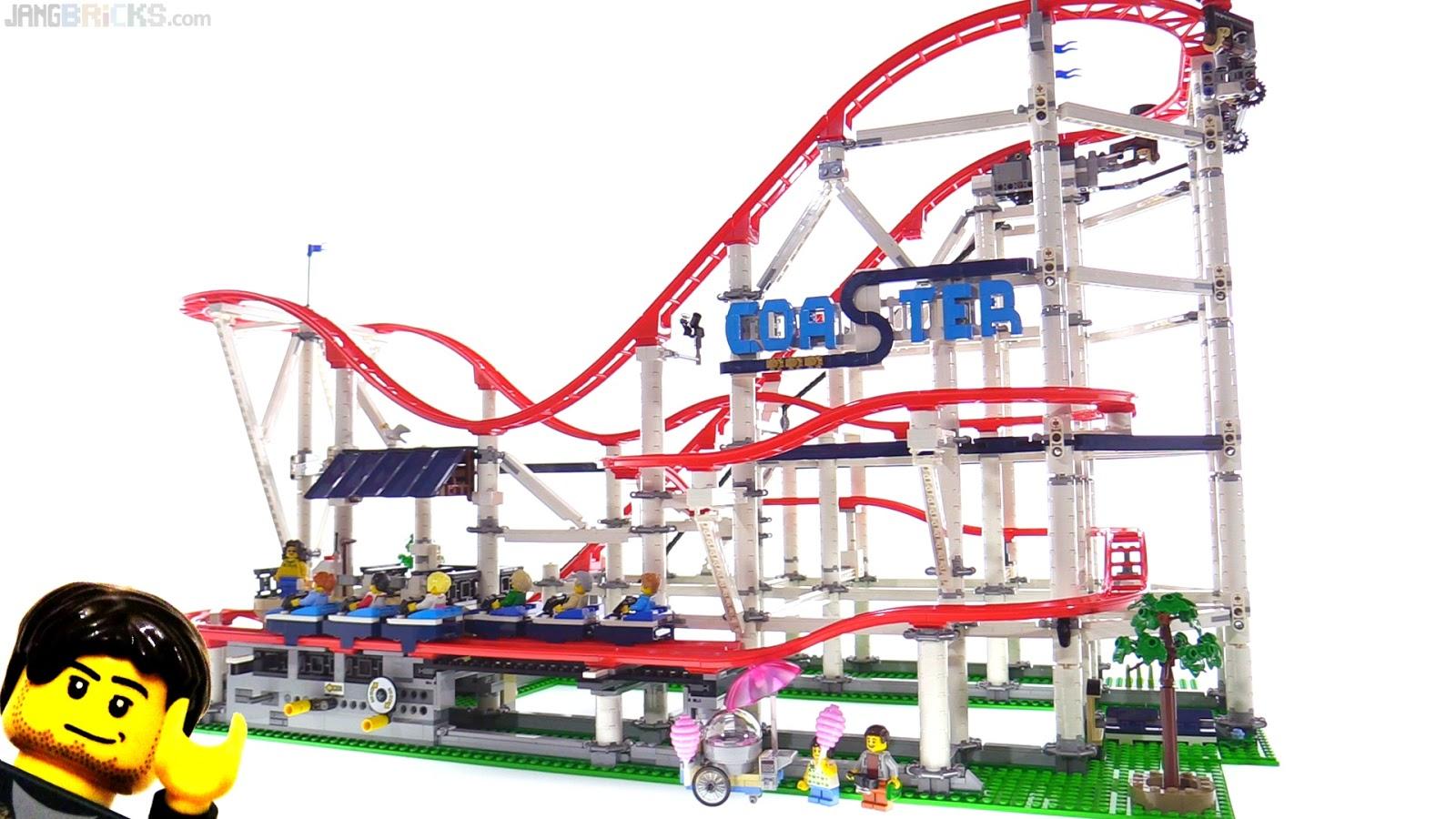 lego creator expert roller coaster build review videos. Black Bedroom Furniture Sets. Home Design Ideas