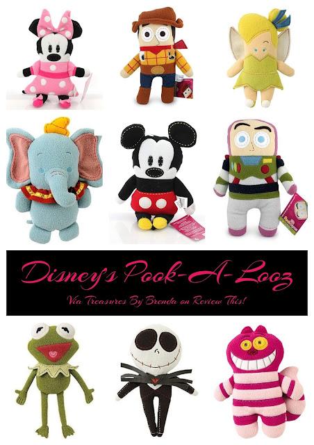 Disney's Pook-a-Looz Plush Toys