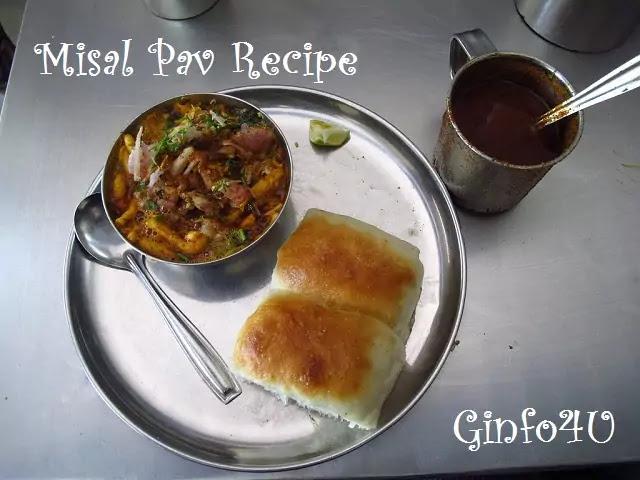 misal-pav-recipe-how-to-make-misal-pav recipe-at-home-in-english-Ginfo4u