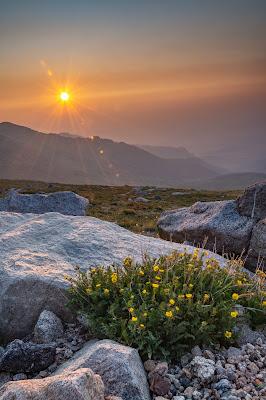 Sunrise, Mount Evans