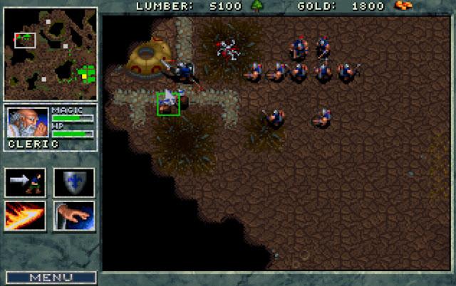 Warcraft 1 Human Attack Screenshot