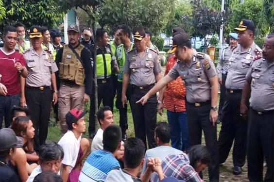 Polisi Berhasil Mengamankan 68 Preman Di Terminal Tanjung Priok