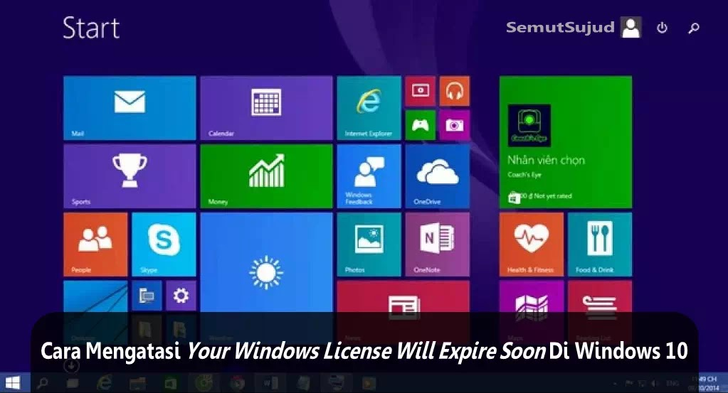 windows activation key will expire soon popup