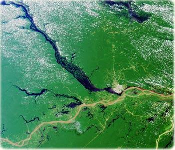 Rio Subterrâneo de 6.000 Km na Amazônia
