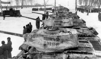 Cómo los armenios regalaron 21 tanques al Ejército Rojo