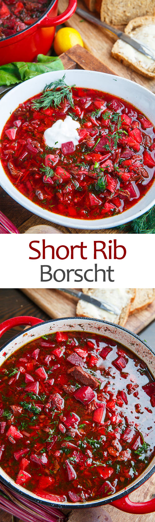 Beef Short Rib Borscht