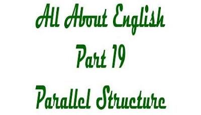 Parallel Structure dengan konjungsi berpasangan, pengertian parallel structure, contoh kalimat parallel structure with paired conjunction