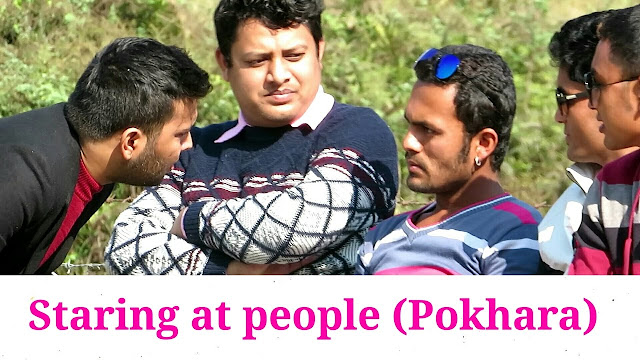 Nepali Prank - Staring at People Pokhara