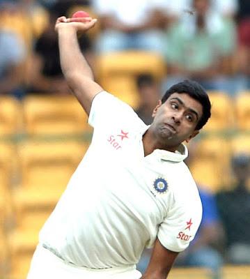 Right arm off break bowler Ravichandran Ashwin is an Indian international cricketer.Master of spin bowling