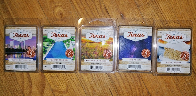 ScentSationals HEB Texas Scented Wax Melts – Spring 2018