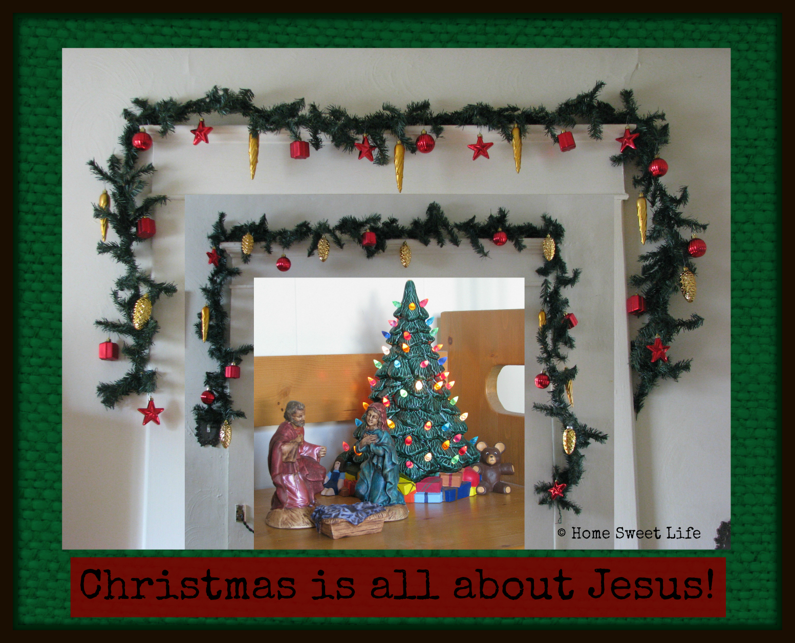 Christmas is abut Jesus