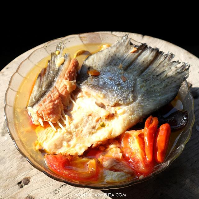 resep sup kepala ikan salmon asam manis