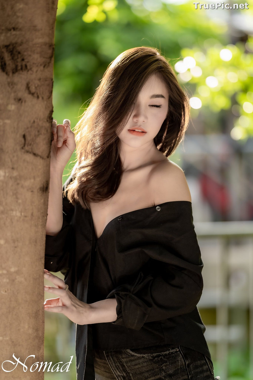 Image Thailand Model - Jarunan Tavepanya - Beautiful In Black and White - TruePic.net - Picture-8