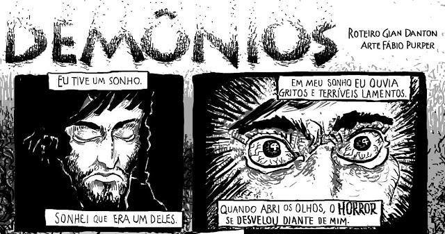 Demônios - Gian Danton e Fabio Purper - Calafrio 58