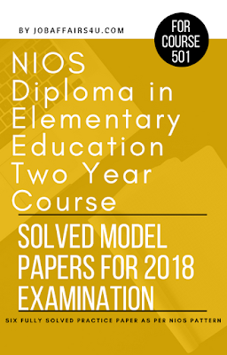 nios deled solved sample paper 2018