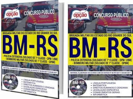 Apostila concurso Brigada Militar RS 2017