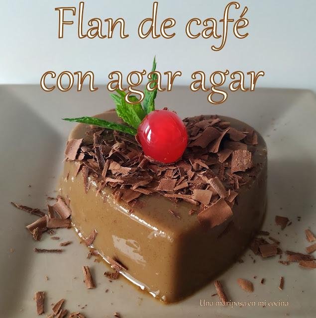 Flan De Café Con Agar Agar