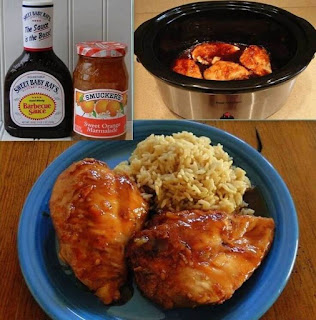 EASY CROCK POT ORANGE CHICKEN