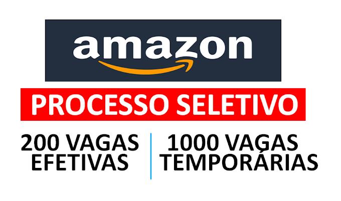 Amazon abre novo centro de ditribuição no Rio de Janeiro e terá 1000 vagas de emprego