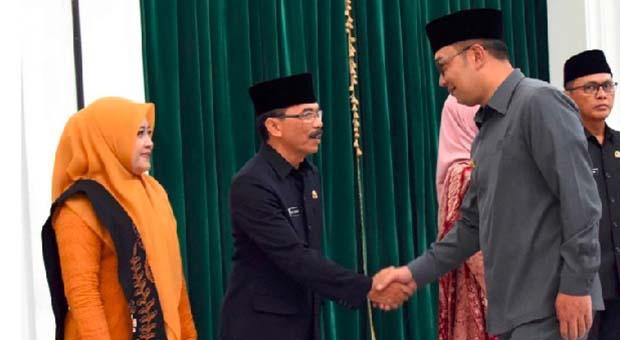 Ridwan Kamil Lantik 14 Pejabat Hasil Lelang Jabatan