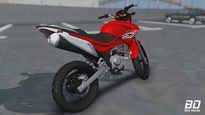 Honda Falcon 400i de Favela para GTA San Andreas - Traseira