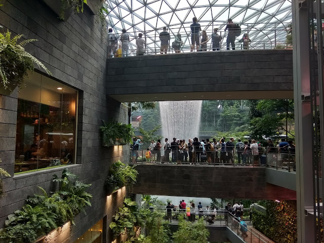Jewel Waterfall Changi Airport