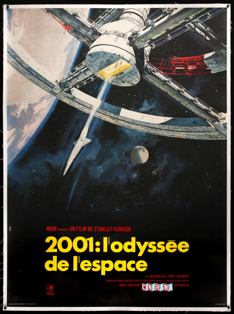 A Vintage Nerd, Vintage Blog, Classic Film Blog, Old Hollywood Blog, Classic Sci-Fi-fi Movies , 2001 Space Odyssey