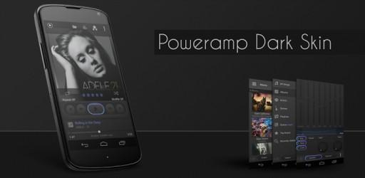 download apk download poweramp dark skin android apk. Black Bedroom Furniture Sets. Home Design Ideas