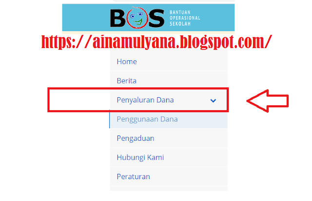 Cara Cek Tanggal Penyaluran (Pencairan) Dana BOS SD SMP SMA SMK Di Situs atau Website bos.kemdikbud.go.Id.