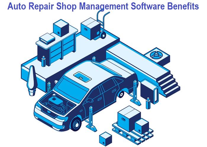 Benefits of Auto Repair Shop Management Software