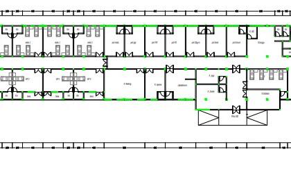 Gambar Denah Klinik AutoCad 2D PDF