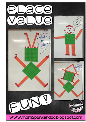 Fun with place value magnets