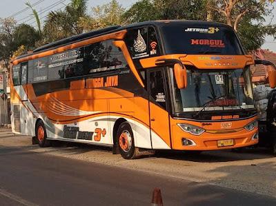 Foto Bus Sudiro Tungga Jaya Morgul