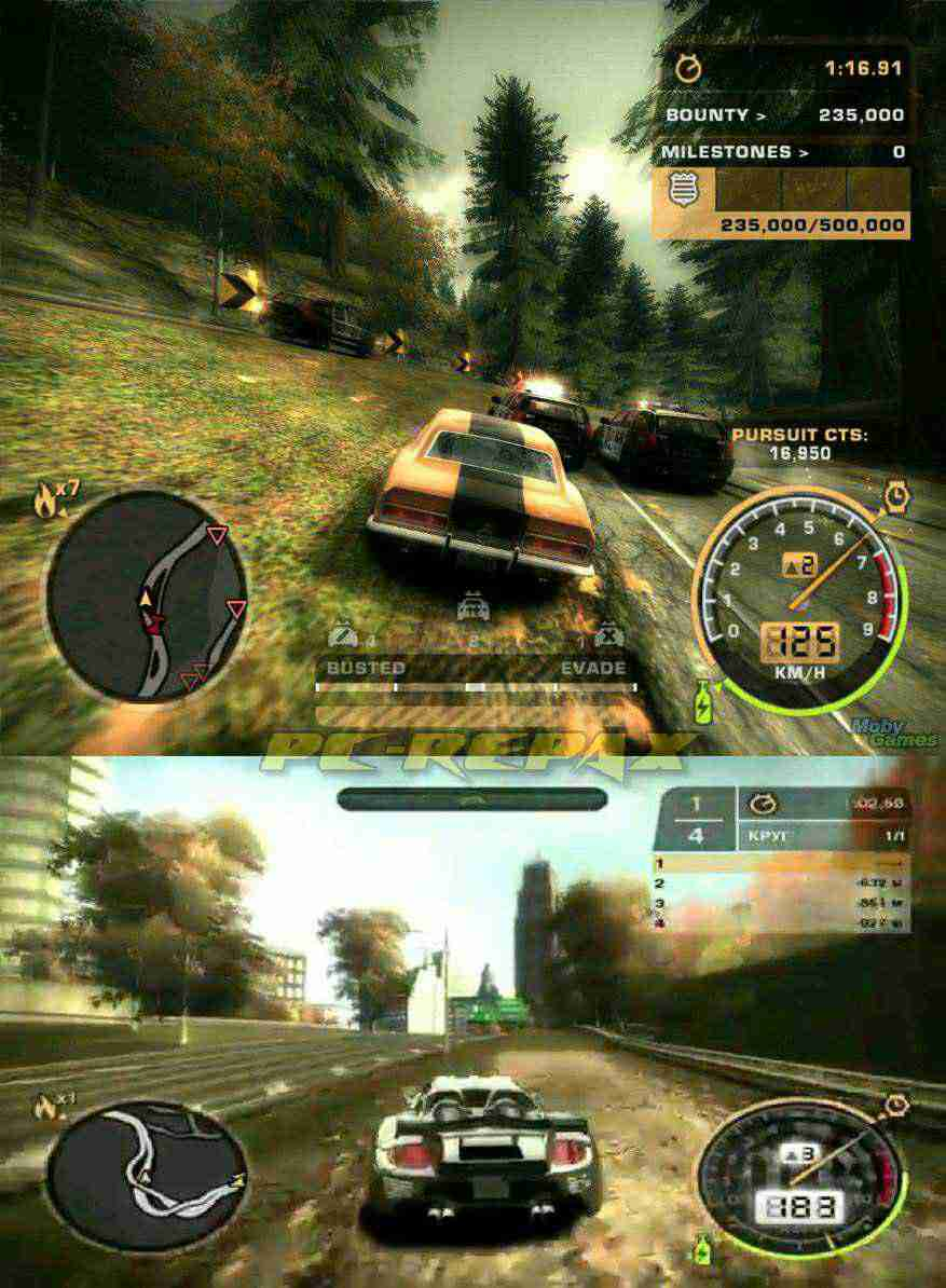 Need For Speed Most Wanted Black Edition 1 8 Gb Pc Repack