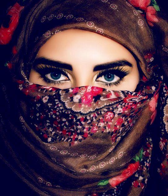 Afghan Girl Eyes DP in Hijab