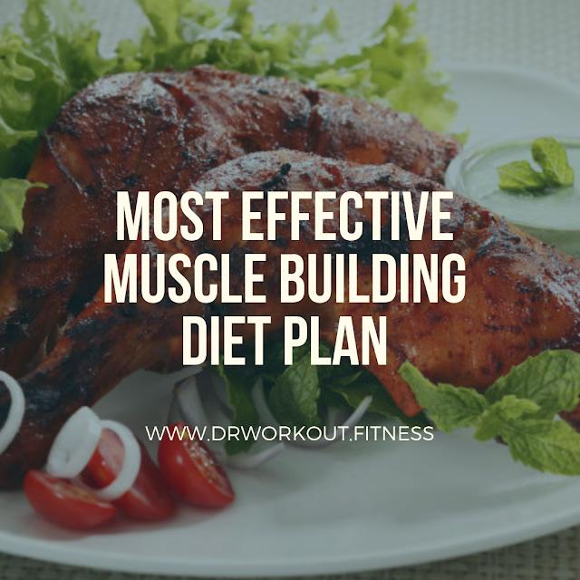 Most Effective Muscle Building Diet Plan