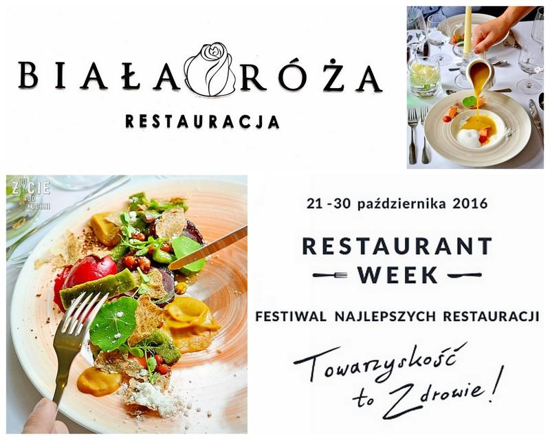 restaurant week, restaurant week polska, restauracja biala roza, krakow, festiwal, zycie od kuchni