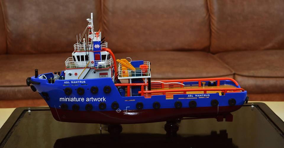 tempat jual harga murah miniatur kapal asl mantrus pt agus suta line capitol nusantara indonesia planet kapal rumpun artwork bergaransi